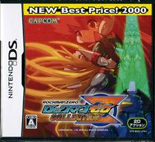 NEW Nintendo DS CAPCOM Rockman Zero Collection BEST Megaman Mega Man JAPAN F/S