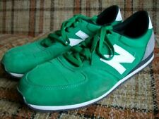 New Balance Mens 13D Green Gray Suede 420 Running Shoes U420GKW