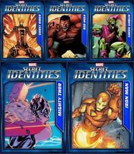 Topps Marvel Collect Secret Identities 2019 Wave 3 [5 CARD TILT SET] Iron Man+++