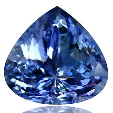 Natural earth mined Tanzanite, Pear Shape, 2.83ct GIL certified
