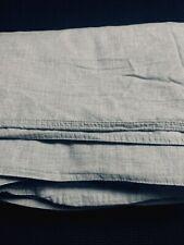 Restoration Hardware Heathered Cotton Cashmere Duvet-Full/Queen-Grey-$449