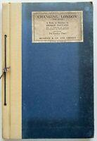 1928 1st Changing London Third Series 40 Folio Sketches, Hanslip Fletcher