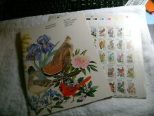UNITED STATES-(-1982-)-STATE BIRDS and FLOWERS-FULL Sheet,w/BOOK, -MNH