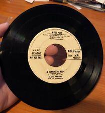 ELVIS PRESLEY ~ RCA VICTOR  DJ-56 ~ White Label Promo ~ Very Rare ~ VG+++