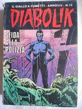 DIABOLIK anno XIV n°12  [G313]