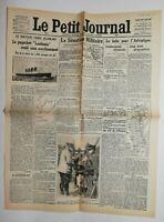 N586 La Une Du Journal Le petit journal 9 mai 1915 paquebot lusitania coulé