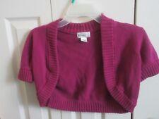 Old Navy Girls Purple Shrug Sweater! Size M 100% Cotton- FREE SHIPPING!!