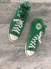 GREEN DAY Converse Chuck Taylor High Top All-Stars sneakers Mens 10 Women 12 EUC