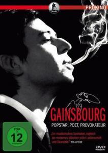 Gainsbourg – Popstar, Poet, Provokateur [DVD/NEU/OVP] Leben einer französischen