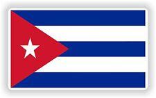 Cuba Bandera bandera pegatina de parachoques etiqueta del vinilo Bicicleta pegatina coche Laptop Tablet