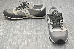 **Saucony Jazz Low Pro 2866-99 Athletic Shoes, Men's Size 9.5, Gray