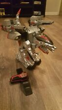 Power Rangers Time Force Deluxe Quantasaurus Rex Megazord Q-Rex HUGE 18?