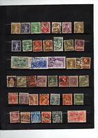 41 timbres de Suisse  no 128/167