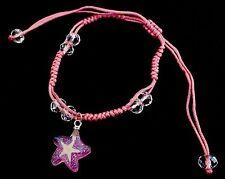 Star fish bracelet shamballa Beads Real starfish string Star violet Natural New