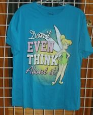 SIZE 1X DISNEY TURQUOISE TINKLE BELL T SHIRT