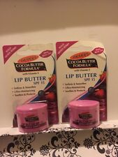 2 X Palmers Cocoa Butter Formula Lip Butter SPF 15 Wild Mixed Berry Lot Of 2