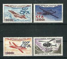 France Reunion Stamps C42-45 Y&T PA 52-55 MNH VF 1954 SCV $91.50