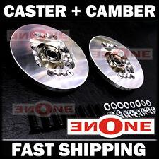MK1 Universal Fit Adjustable Caster Camber Plates Datsun 510 Strut Mounts Mount