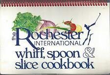 *ROCHESTER NY 1987 MONROE COUNTY INTERNATIONAL COOK BOOK *WHIFF SPOON & SLICE