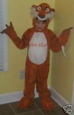 NWT! DISNEY STORE Jungle Book SHERE KHAN Tiger Fancy Dress Kids COSTUME XXS 2/3