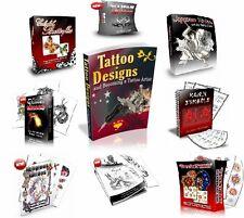 Tattoo Flash Designs,Tattoo Books + Videos + 1000s of Tattoo Designs on CD