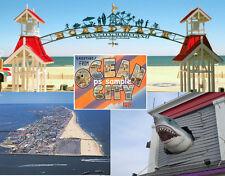 Maryland OCEAN CITY Travel Souvenir Fridge Magnet