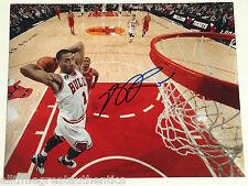 CHICAGO BULLS DERRICK ROSE SIGNED 11X14 PHOTO W/COA NBA MVP