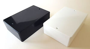 ABS Gloss Plastic Small Enclosure Project Boxes- UK Made- Modulo Enclosures