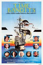 Time Bandits Insert Movie Poster 14x36 Replica