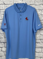 New listing NIKE  St. Louis Cardinals Polo Golf Shirt MLB XL Blue Baseball