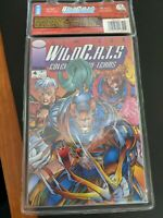 Image Comics: Jim Lee WildCats Pedigree Collection 4 issue mini series. SEALED!