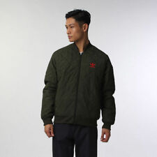Adidas Originals Superstar Combat Quilted Bomber Jacket Sz:XS Green M69539 Rare