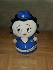 "KellyToy Kelly Toy Police Officer BETTY BOOP Bobble 11"" Plush Doll"