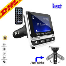 Bluetooth FM Transmitter Wireless Auto Radio Adapter Freisprecheinrichtung MP3