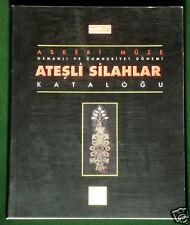 BOOK Ottoman Firearms Turkish military rifle gun ornamental inlay pistol bayonet