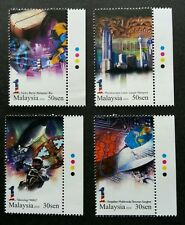 1 Malaysia Collection 2010 Rocket Earth Space Satellite Tower (stamp color) MNH
