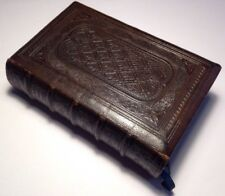 (1863) Holy Bible, With Common Prayer And Wesley's Methodist Hymns, Antique Book