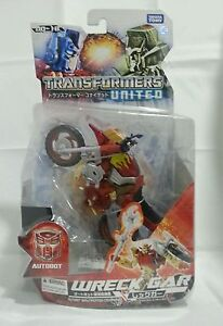 Transformers United UN-18 Wreck Gar MISC Takara Tomy classics henkei delux mp