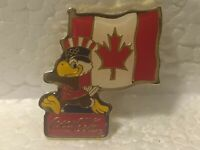 1980 Olympic Eagle with Flag of Canada by Coca Cola Collectible Pin pin3536