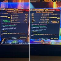 Borderlands 3 Projectile Recursion Bundle 🔥Anointed 15% Life Steal🔥 Xbox