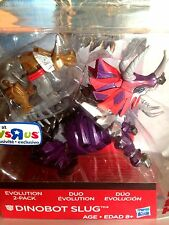 Transformers AOE Dinobot Slug Evolution 2 Pack Toys R Us Exclusive G1 Slug