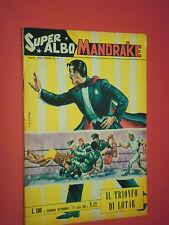 SUPER ALBO SPADA- MANDRAKE -N°42 b - DEL 1963- RARO LIRE 100- SUPERALBO
