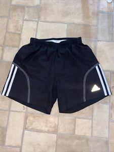 Mens Adidas Response Shorts Size XS Extra Small Black White Running
