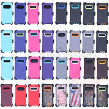 For Samsung Galaxy S10/S10 Plus/S10E Defender Case (With Clip fits Otterbox)