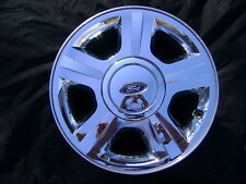 """05 06 FORD EXPEDITION 17"""" 17x7.5 Chrome Clad Factory OEM Rim Wheel & Cap 3593"""