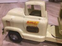 Buddy L Mech-A-Matic car carrier truck Circa 1958