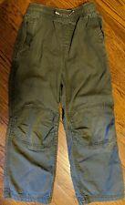 Boys, Hanna Andersson Size 8 (130) GreenCotton Cargo Elastic Waist Pants