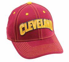 Adidas NBA Men's Cleveland Cavaliers Structured Team Arc Flex Hat