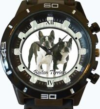 Boston Terrier New Gt Series Sports Unisex Gift Watch