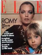 MORT DE ROMY SCHNEIDER => coupure de presse 17 PAGES 1982 / CLIPPING